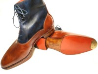 Bicolor Balmora boots for KG (2)6