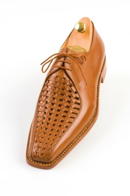 Braided mens shoes 134-11