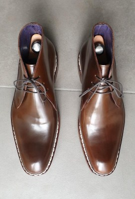 Horween cordovan boots for BK (2)