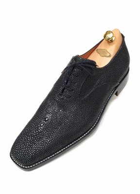 Stingray oxford handsewn shoes by Rozsnyai (1)