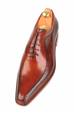 pointed handpainted bicolor oxfords 116-06 pic1