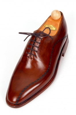 wholecut oxfords with wave holes 333-09 pic3